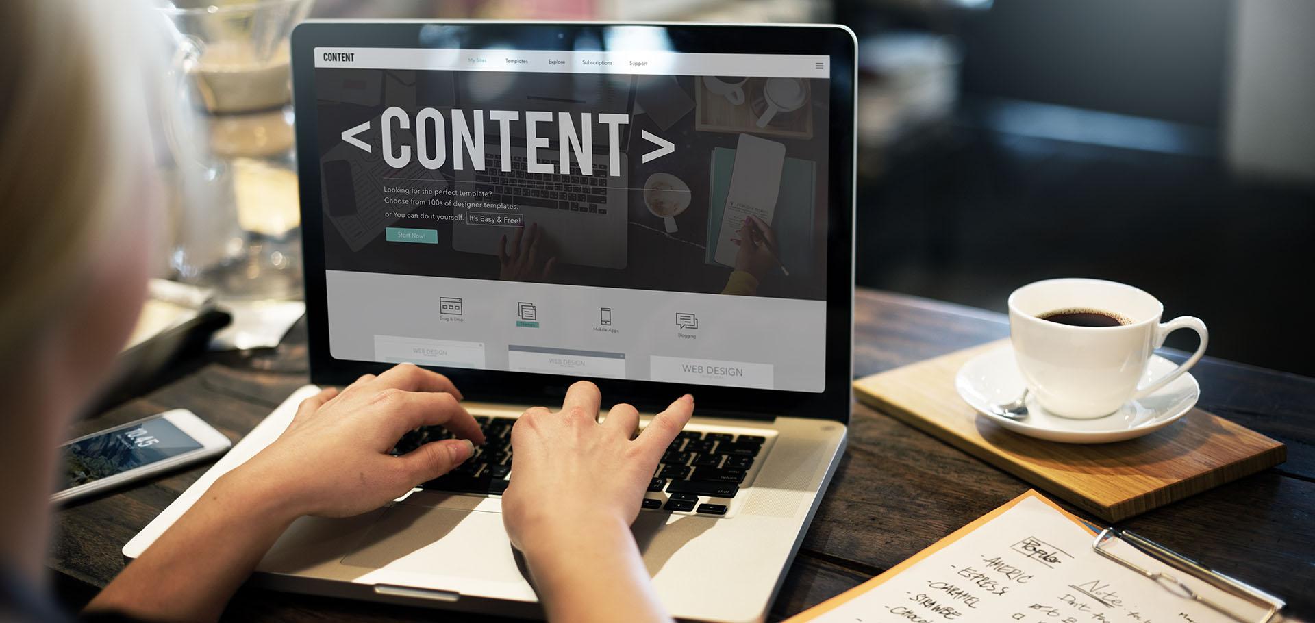 Content, innholdsproduksjon